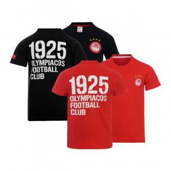 T-SHIRT ΠΑΙΔΙΚΟ 1925 OLYMPIACOS FOOTBALL CLUB