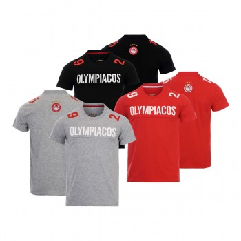 T-SHIRT ΕΝΗΛΙΚΩΝ OLYMPIACOS 1925 PATCH