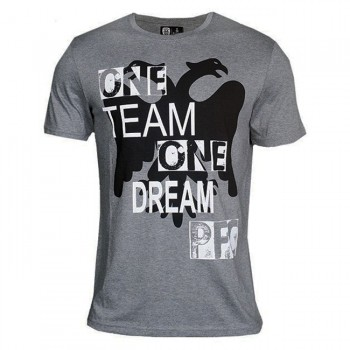 T-SHIRT PFC ΓΚΡΙ ONE TEAM ONE DREAM