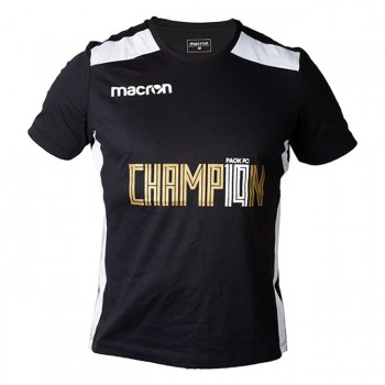 MACRON PAOK FC T-SHIRT CHAMPIONS 18-19