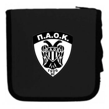 ΘΗΚΗ CD WALLET ΜΑΥΡΟ ΠΑΟΚ