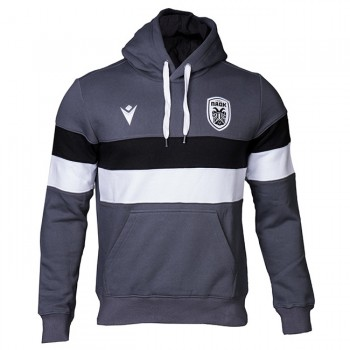 PAOK FC ANTHRACITE TRAVEL HOODIE