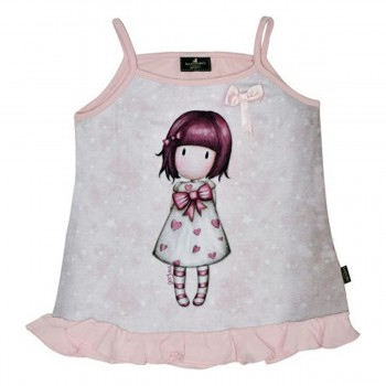 ΠΑΙΔΙΚΟ T-SHIRT ΑΜΑΝΙΚΟ TOP SANTORO GORJUSS LITTLE HEART